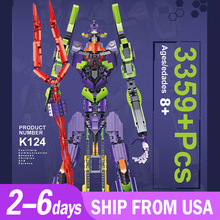 K124 Gundam Warrior Robot MOC Mobile Gundam Founder Set Type-01 18K Model Building 3359pcs Block Bricks Toys Gift