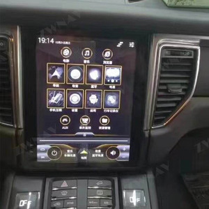 Image 2 - Android 9 For Porsche Macan 2011 2012 2013 2014   2017 Vertical IPS Screen Tesla Style Multimedia GPS Navigation Audio Autoradio