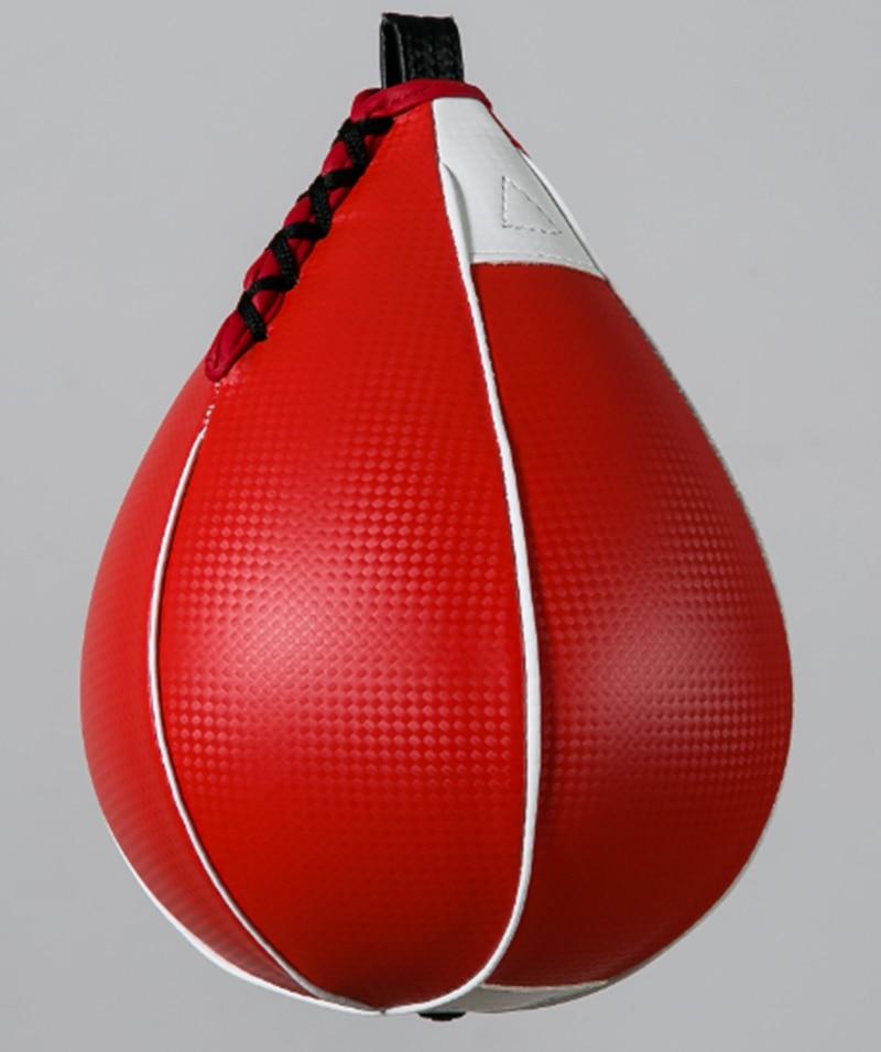 PU Hanging Boxing Speed Hang Ball Pear Ball Punch Bag Training Swivel Speedball