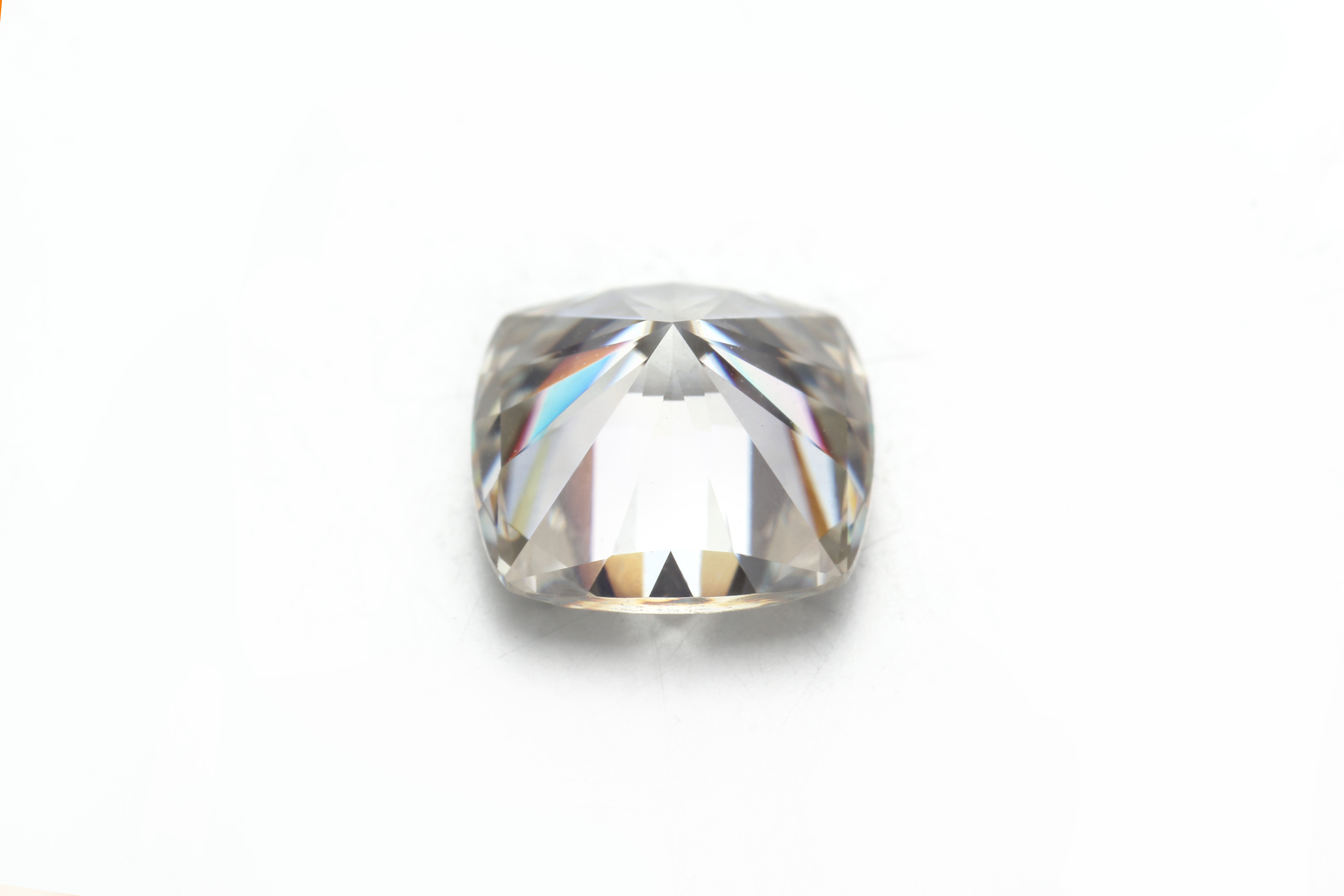 Image 3 - Starsgem 7*7mm GH Color Cushion Cut Moissanite 2ct Test Possitive VVS Loose Stone Jewelry StoneLoose Diamonds & Gemstones   -