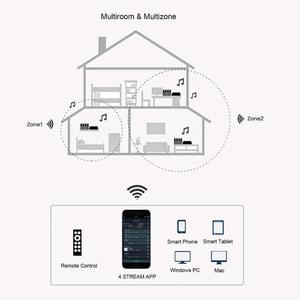 Image 5 - Up2stream Mini WiFi ses alıcı modülü kurulu ile Spotify Airplay DLNA 24bit 192kHZ FLAC Multiroom ücretsiz Android iOS App