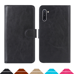 На Алиэкспресс купить чехол для смартфона luxury wallet case for samsung galaxy note10 (exynos 9825) pu leather retro flip cover magnetic fashion cases strap