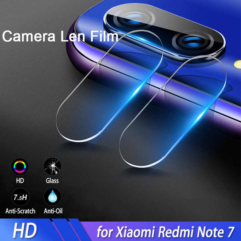 Lente de cámara de vidrio templado para Redmi Note 7 película trasera de teléfono en Xiaomi 7A Protector de pantalla Len película para Redmi K20 Pro K 20 vidrio
