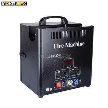 1Pcs 3 Head Fire Machine safe channel 180W DMX512 Flame Projector Machine Professional Stage Special Effects Spray Fire Machine