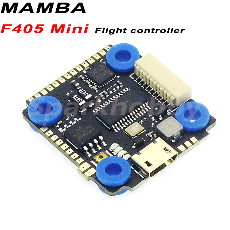 1PC MAMBA F405 Mini Flight Controller F4 FPV Racing Drones FC Compatible With MAMBA OSD 5V 1A BEC 2-4S For RC FPV Drones Parts