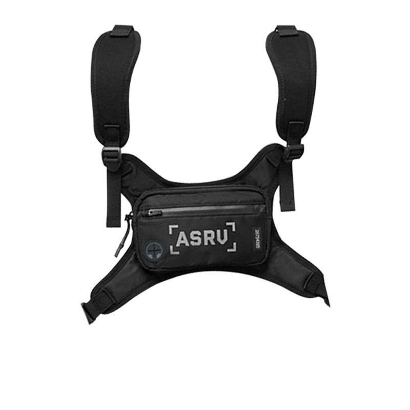 New Multifunctional Outdoor Cycling Running Waterproof Wear-resistant Sports Belt Outdoor Double Shoulder Chest Bag