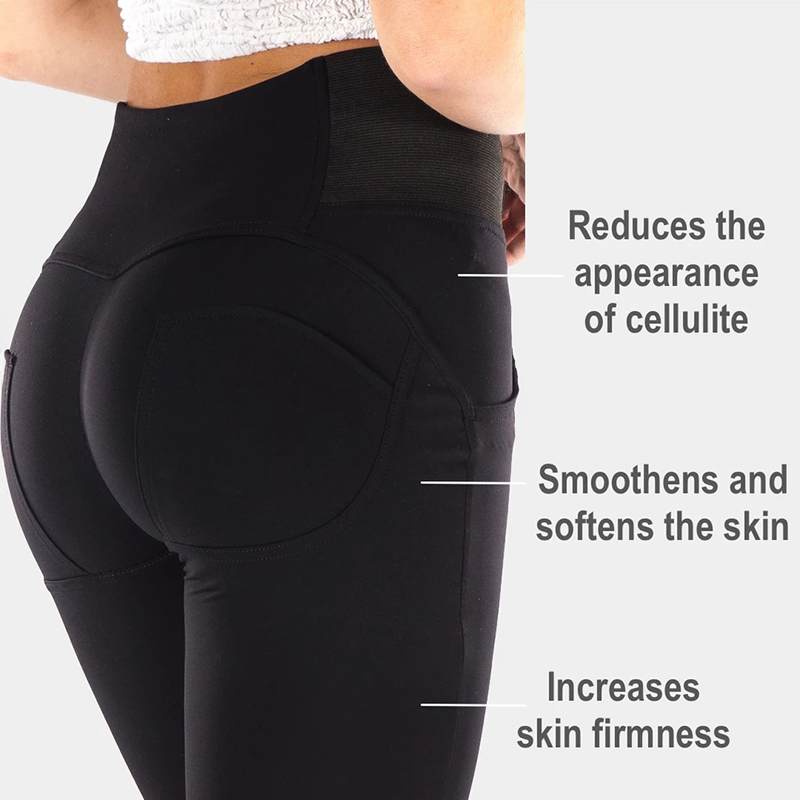 Melody 2020 Summer Black Leggings Woman High Rise Zipper Fly Super Skinny Push Up Leggings Workout Gym Sports Leggings Women