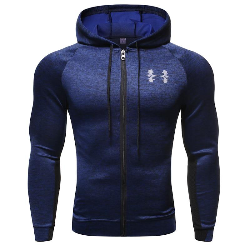 Hooded Fitness Sport Jacket…
