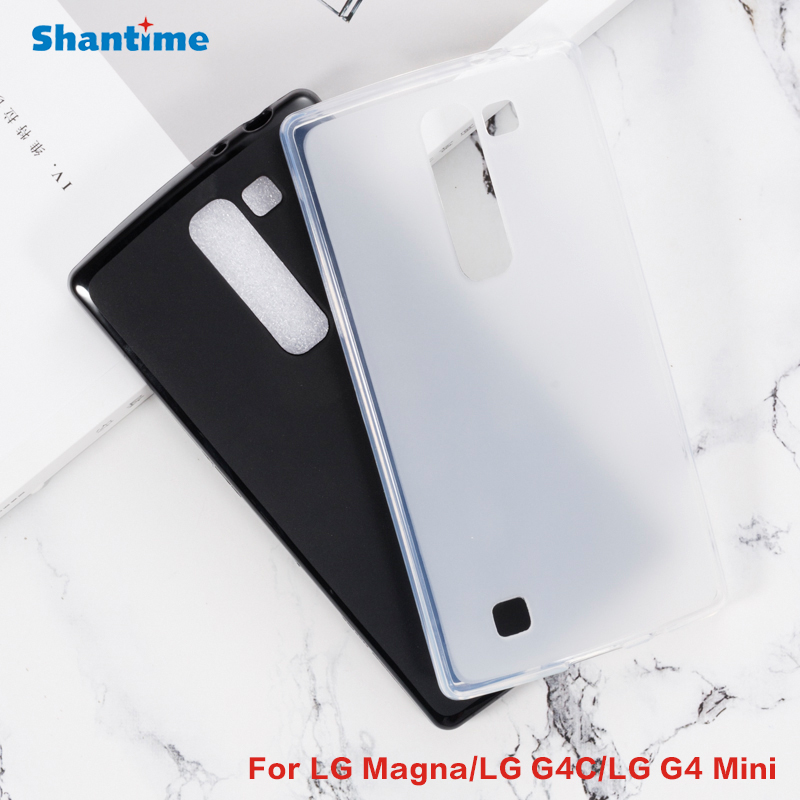 For LG Magna Gel Pudding Silicone Phone Protective Back Shell For LG G4C LG G4 Mini Soft TPU Case image