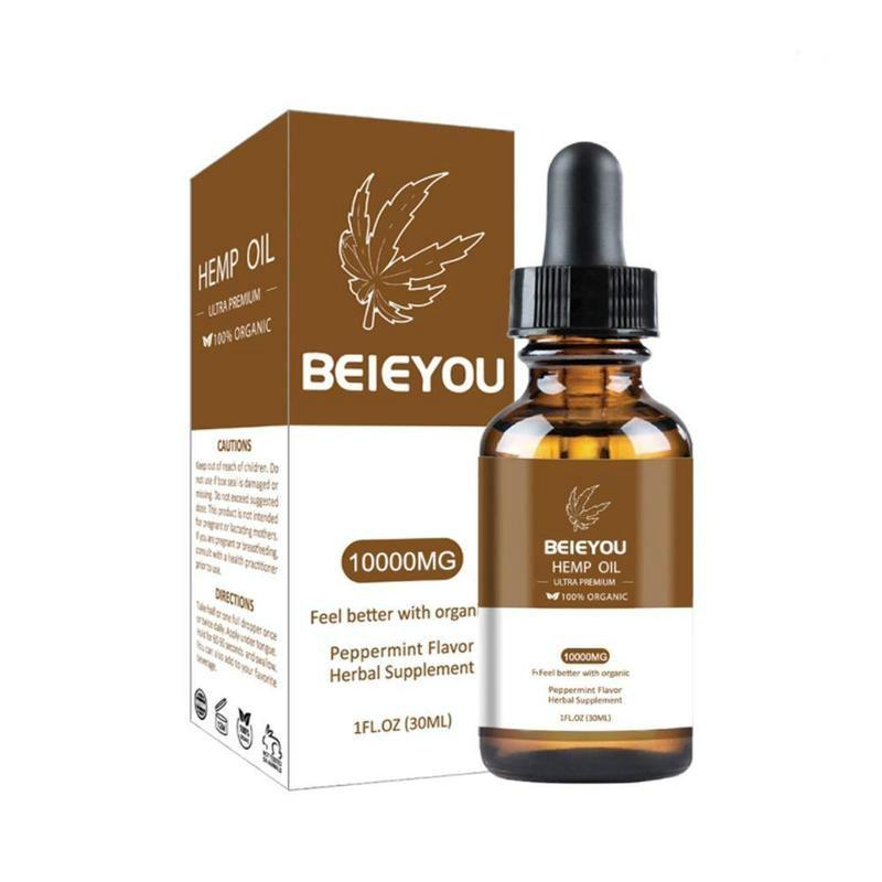Organic Essential Oils 3000/10000mg Cbd Hemp Oil Herbal Drops Body Relieve Anxiety Stress Help Sleep 3000/10000mg Cbd Hemp Oil