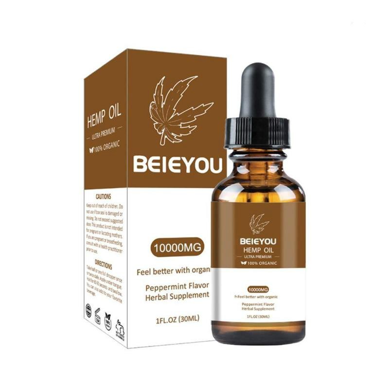 Organiczne olejki eteryczne 3000/10000mg olej konopny Cbd ziołowe krople ciało łagodzi niepokój stres pomoc sen 3000/10000mg olej konopny Cbd