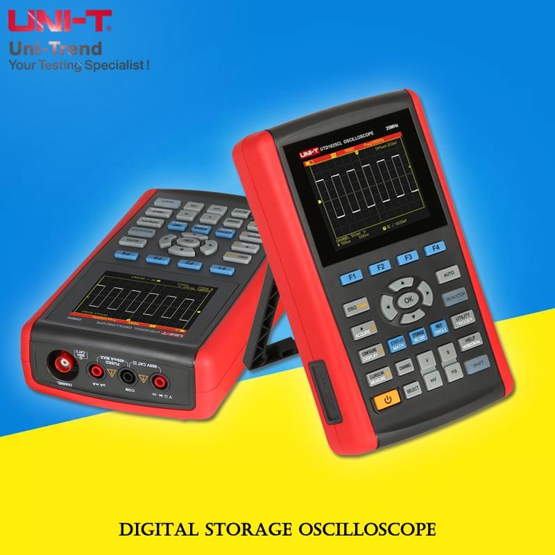 UNIT UTD1025CL/UTD1025DL/UTD1050CL/UTD1050DL Digital Storage Oscilloscope; oscilloscope / multimeter multifunction tester