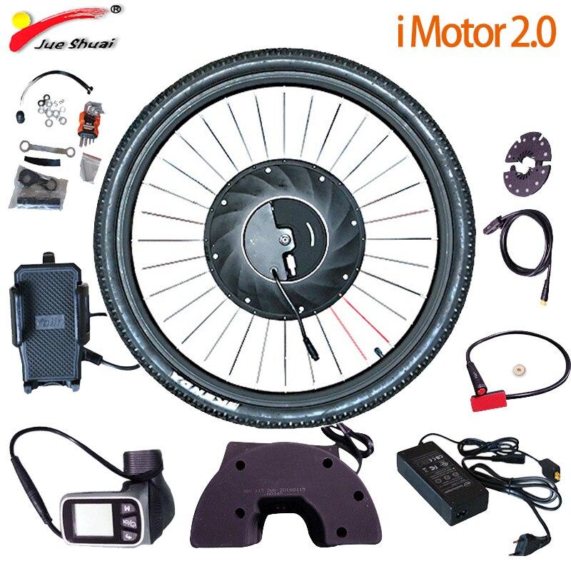 IMortor Elektrische Umwandlung Fahrrad Kit Mit Batterie Bürstenlosen Getriebe Hub Motor Rad e bike Für Bicicleta Eletrica Ebike MTB Kit
