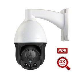Скоростная купольная IP-камера 1080P PTZ 3MP Full HD 4X Zoom P2P 40m IR ночное видение Водонепроницаемая P2P наружная Onvif Купольная камера POE Cam xmeye app
