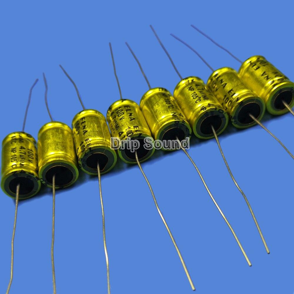 2pcs 250V 10uF Speaker Frequency Divider Polypropylene Non-Polarized Capacitor