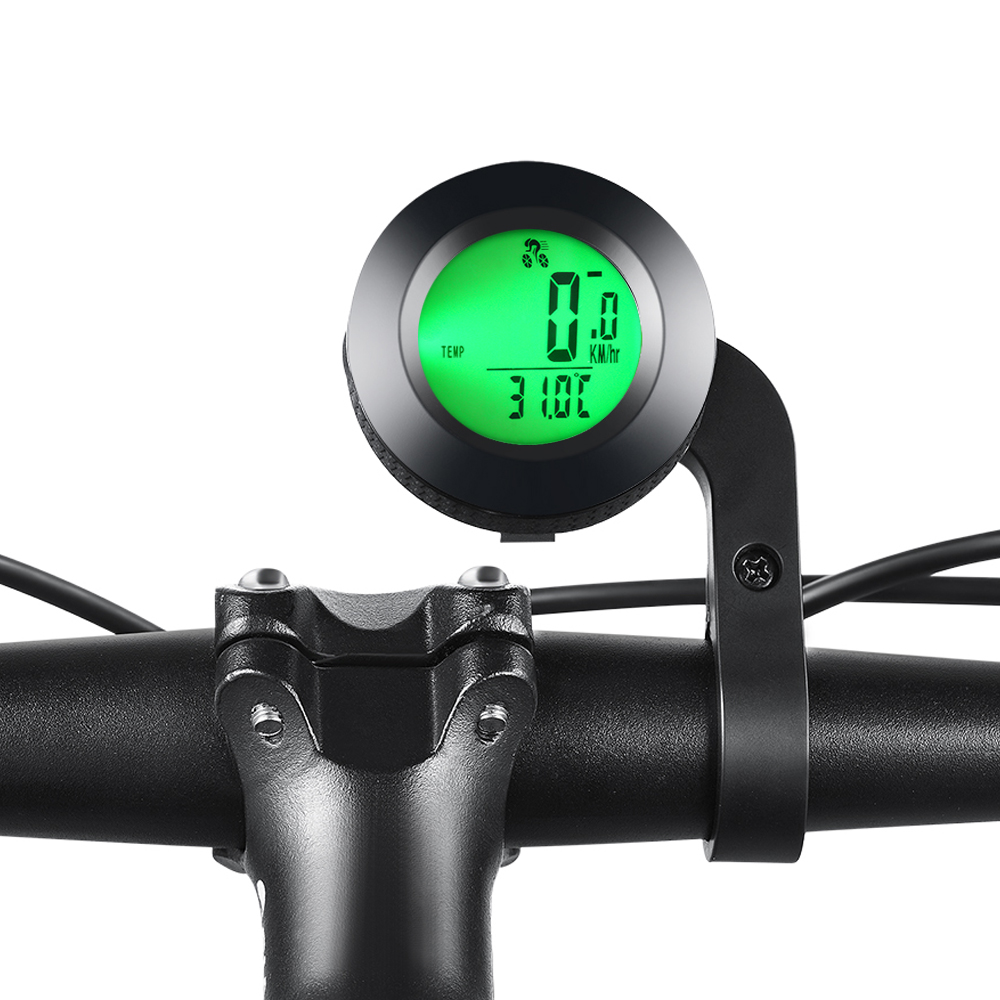 Wireless Bicycle speedometer Waterproof Cycling LED bicycle Computer Odometer Nine languages accessories Parts