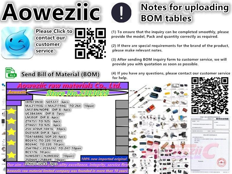 Aoweziic BOM componenti elettronici Professionali one-stop BOM da tavolo modello di servizio di corrispondenza (si prega di informarsi prezzo del modello, acquisto)