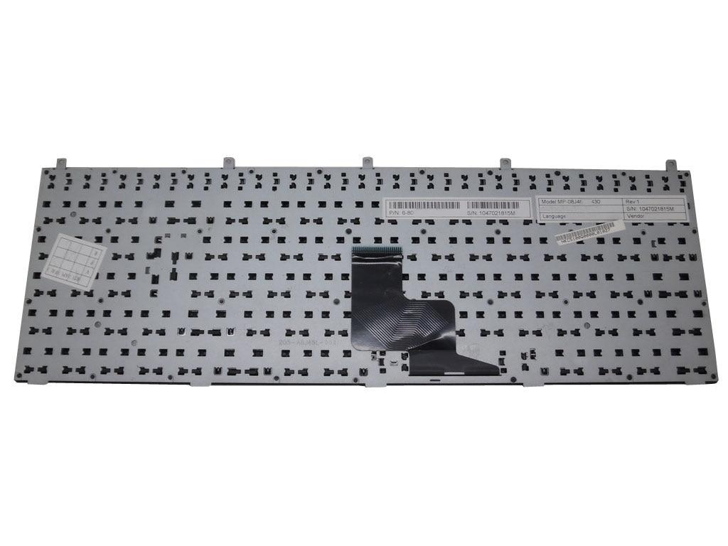Laptop Keyboard for CLEVO W150DAQ W150ERM W150ERQ W150HNM W150HNQ W150HRM W150HRQ W15XDAQ W170ER W170HN W170HNM W170HR Sweden SD Without Frame