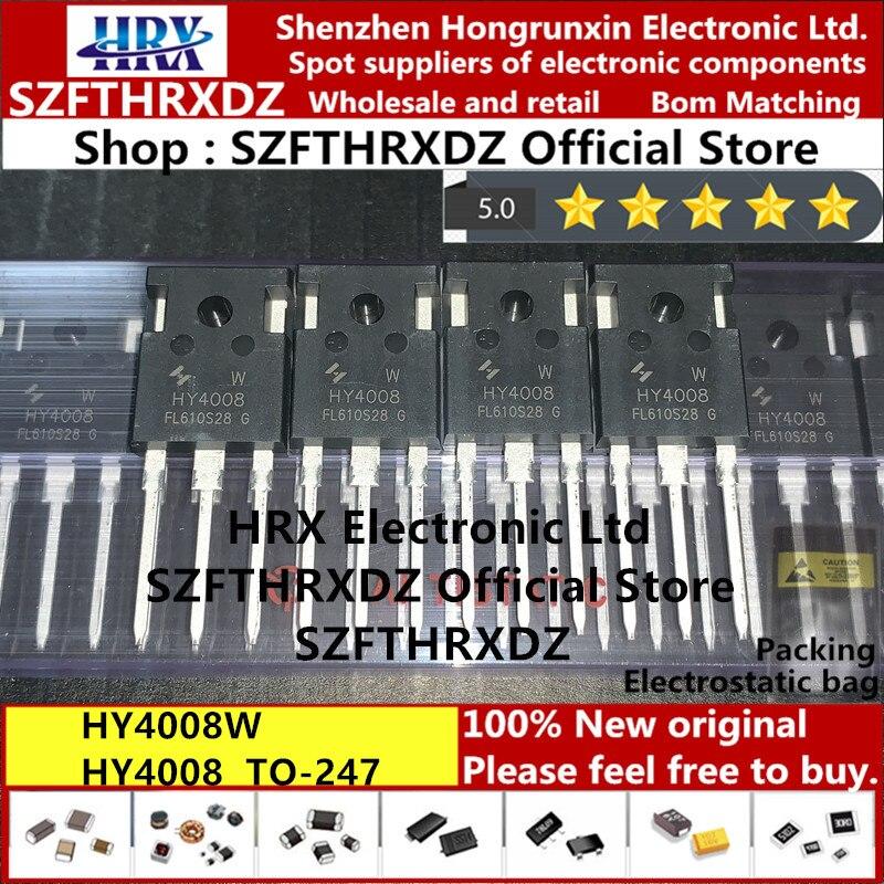 100% Новый оригинальный HY4008W, HY4008, TO247, HY4008W, TO247, 80 В, 200A, 30 шт./трубка 330 шт./кор. (10 шт.)|Индукторы|   | АлиЭкспресс