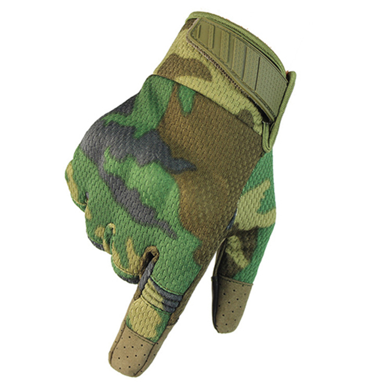Outdoor Touch Screen Tactical Gloves Army Military Bicycle Airsoft Shooting Paintball Camo Sport Breathable Full Finger Gloves