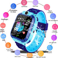 Q12 Smart Watch LBS Kid SmartWatches Baby Watch 1.44 Inch Voice Chat GPS Finder Locator Tracker Anti Lost Monitor with Box|Smart Watches| |  -