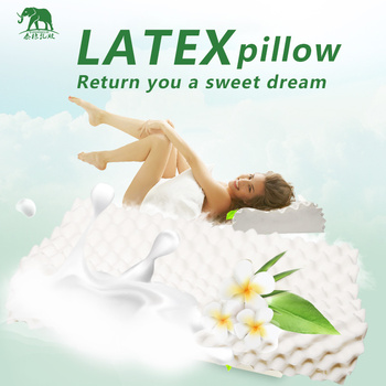 Thailand Pure Natural Latex Pillow Remedial Neck Protect Vertebrae Health Care Orthopedic Pillow  Natural Children latex pillow 2