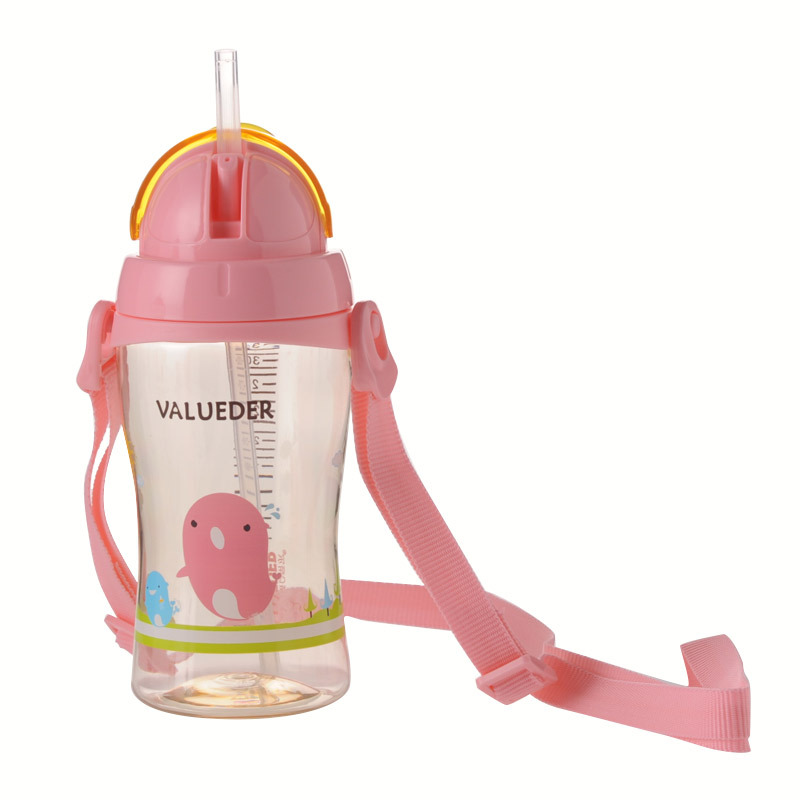 Wei Lun Seoul Kindergarten Children Girl'S BOY'S Take-out Suspender Strap Adjustable Plastic PPSU Glass Cup With Straw