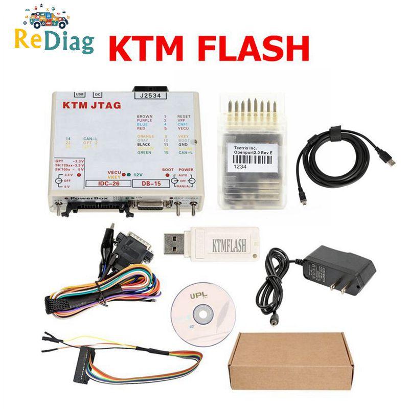 Newest V1.95 KTM Flash OPENPORT J2534 Cable Support 271 MSV80 90 KTMFLASH ECU Power Upgrade Tool Programmer&ECU Transmission