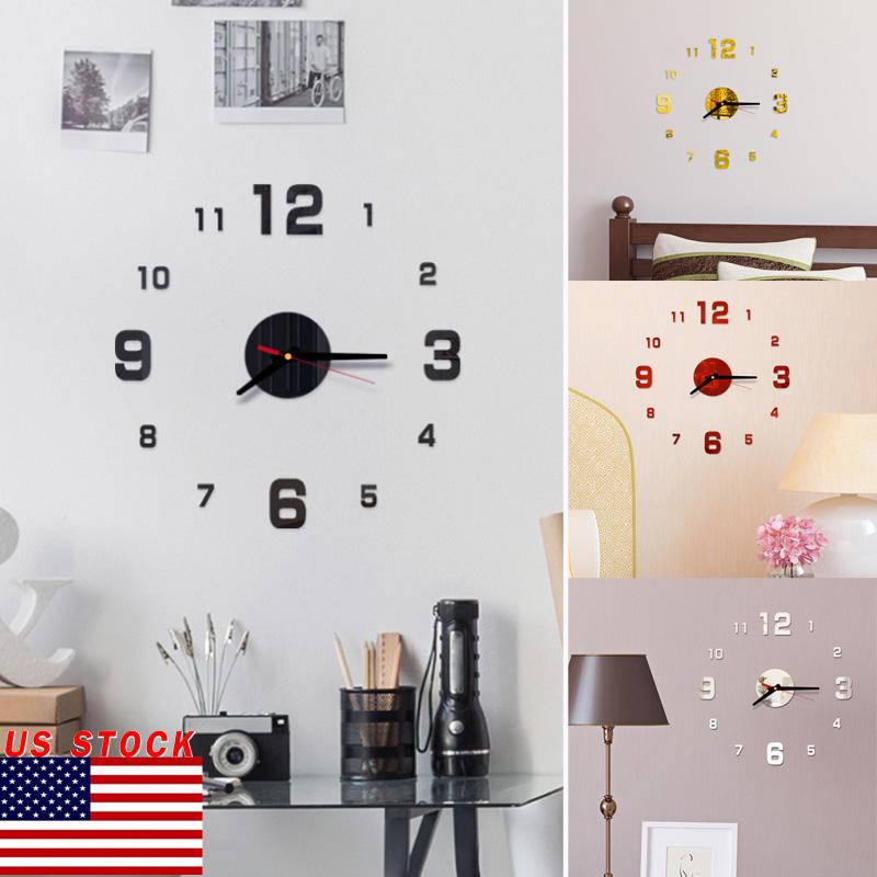 Часы настенные DIY Декор 3D