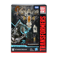TAKARA TOMY Transformation CAR Metal SS21 SS06 Part 18CM Starscream Action Figure Deformation Robot Children Gift Toys