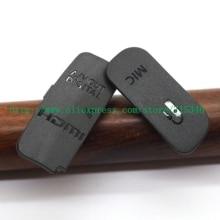 Cubierta inferior de puerta de goma para cámara Digital Canon EOS 600D Rebel T3i Kiss X5, USB/HDMI, entrada/salida de vídeo, (alta calidad)