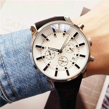 Reloj multifunción para hombre, funda de acero inoxidable, movimiento de cuarzo, resistente al agua, con caja
