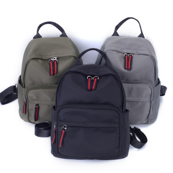 Oxford backpack women 2020 new fashion women nylon softback waterproof casual canvas college student bag backpack army green