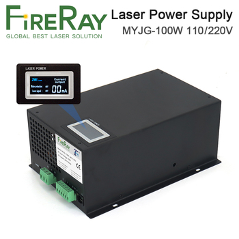 FireRay MYJG-100W 80-100W CO2 Laser Power Supply Category for CO2 Laser Engraving and Cutting Machine fireray reci w2 t2 90w 100w co2 laser tube dia 80mm 65mm power supply 100w for co2 laser engraving cutting machine