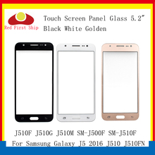 10Pcs/lot Touch Screen For Samsung Galaxy J5 2016 J510 J510FN J510F J510G J510M Touch Panel Front Outer Lens J5 2016 LCD Glass смартфон samsung galaxy j5 2016 sm j510fn white