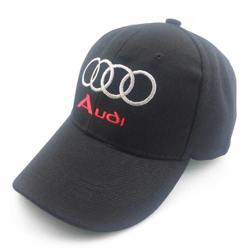 Unisex Cotton Car logo performance Baseball Cap hat for For Audi A3 A4 B5 B6 B7 B8 A6 C5 A5 TT Q3 Q5 Q7 A1 A2 A7 A8 S3 S4 RS image