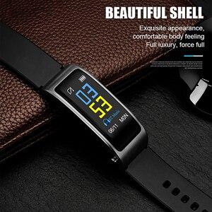 Image 3 - Y3 Plus bezprzewodowe słuchawki Bluetooth Smart watch zdrowia Tracker: krokomierz bransoletka fitness inteligentne nadgarstek zestaw słuchawkowy Bluetooth