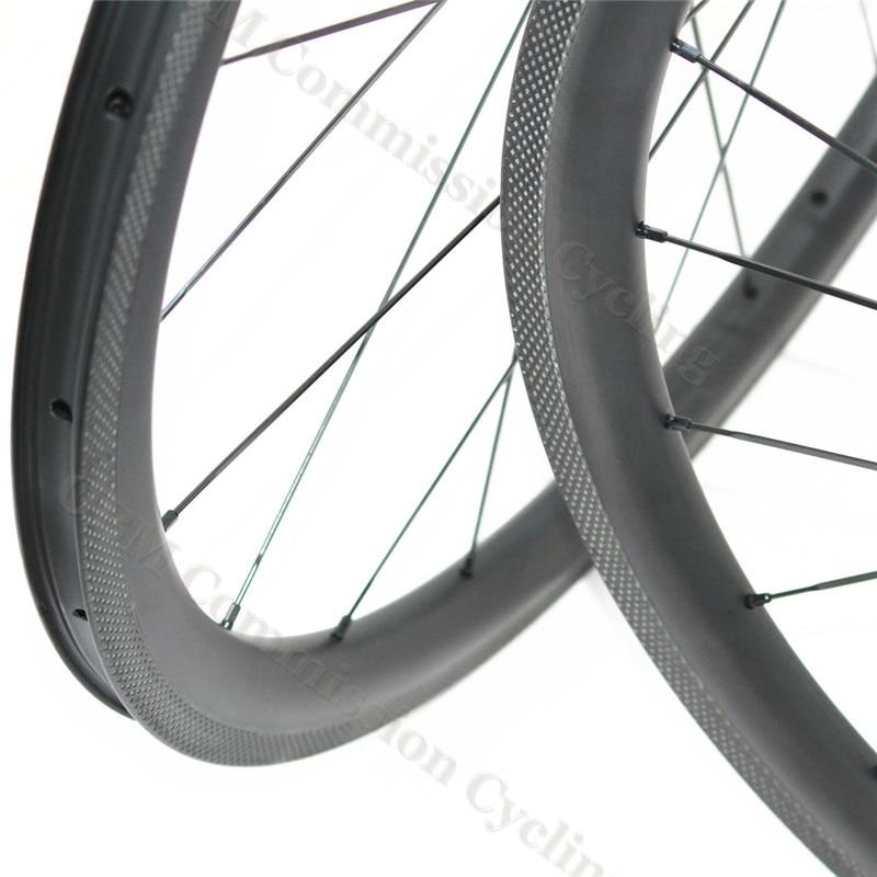 High performance carbon clincher wheels 38mm, cheap carbon bicycle wheels 38mm x 25mm road racing bike 700C, 20H/24H