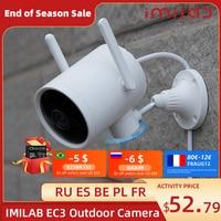 IMILAB EC3 Cámara Wifi para exteriores Ip Mi casa cámara de seguridad 2K noche cámara de visión humana Dection Cctv cámara de videovigilancia