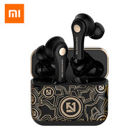 Xiaomi Tws Bluetooth 5.0 Koptelefoon Stereo Oordopjes Draadloze Bluetooth Koptelefoon Mic Opladen Doos Hoofdtelefoon Voor Alle Smartphones