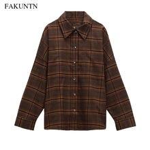 Осенняя модная женская блузка рубашка 2020 Женская куртка Повседневная