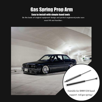 For BMW E30 Car-styling Refit Bonnet Hood Gas Shock Lift Strut Bars Car Accessories Support Rod For BMW image