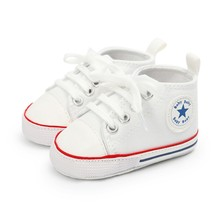 Autumn Winter Sapatos Toddler Children Canvas Shoes Boys Girls Sneakers Fashion High Top Lace Up Casual Kids Walking Shoes(China)