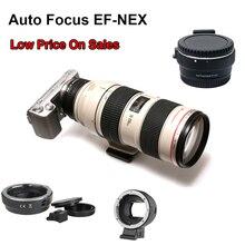 Адаптер для крепления объектива с автоматической фокусировкой для вспышки Canon EF с креплением для камеры Sony NEX3/3N/5N/5R/7/A5000/A6000
