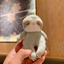 Брелок с подвеской плюшевая мышь Ленивец милая кукла мальчик