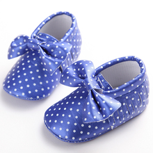 Gold Black PU Leather Brand Baby Shoes M