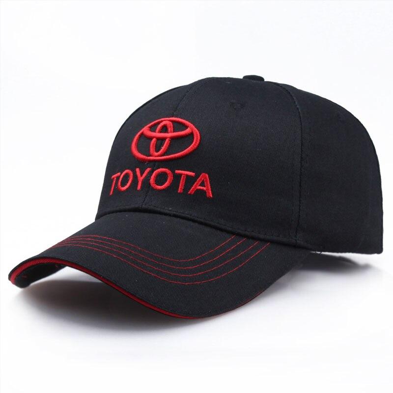 Wholesale Baseball Cap Toyota Embroidery Casual Bone Snapback Hat Man Racing Cap Logo Motorcycle Sport Hat Trucker Caps