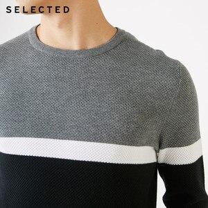 Image 5 - Отборные хлопковые пуловеры разных цветов с круглым вырезом и длинными рукавами, вязаный свитер S
