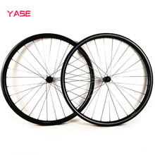 YASE New 29er carbon mtb disc wheels titanium alloy spokes 27x25mm tubeless DT 180S increase 110×15 148×12 bike carbon wheelset