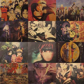 51*35cm nowy plakat vintage Classic Anime Cartoon plakat z papieru pakowego malowanie naklejek ściennych Home dekoracyjne tanie i dobre opinie DesertCreations CN (pochodzenie) POSTER Pojedyncze akwarelowy Animacja bez ramki Klasyczne VNYKND35179 Malowanie natryskowe